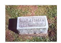 PARKER, MARY JANE - Oneida County, New York | MARY JANE PARKER - New York Gravestone Photos