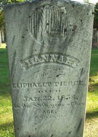 PIERCE, HANNAH - Oneida County, New York | HANNAH PIERCE - New York Gravestone Photos