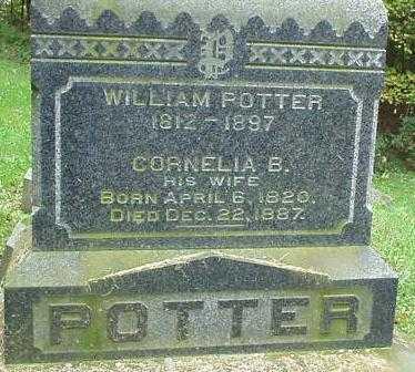 POTTER, CORNELIA B. - Oneida County, New York | CORNELIA B. POTTER - New York Gravestone Photos