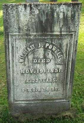POWELL, WILLIAM J. - Oneida County, New York | WILLIAM J. POWELL - New York Gravestone Photos