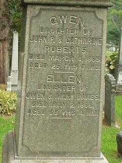 ROBERTS, GWEN - Oneida County, New York   GWEN ROBERTS - New York Gravestone Photos