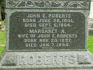 ROBERTS, JOHN E. - Oneida County, New York | JOHN E. ROBERTS - New York Gravestone Photos