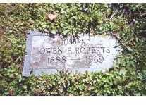 ROBERTS, OWEN FRANKLIN - Oneida County, New York   OWEN FRANKLIN ROBERTS - New York Gravestone Photos