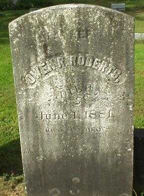 ROBERTS, OWEN R. - Oneida County, New York | OWEN R. ROBERTS - New York Gravestone Photos