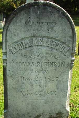 ROBINSON, LYDIA A. - Oneida County, New York | LYDIA A. ROBINSON - New York Gravestone Photos