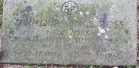 ROSS (WWI), SEYMOUR LINCE - Oneida County, New York | SEYMOUR LINCE ROSS (WWI) - New York Gravestone Photos
