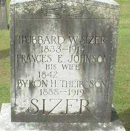 SIZER, FRANCES E. - Oneida County, New York   FRANCES E. SIZER - New York Gravestone Photos