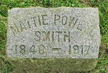 SMITH, MATTIE - Oneida County, New York | MATTIE SMITH - New York Gravestone Photos