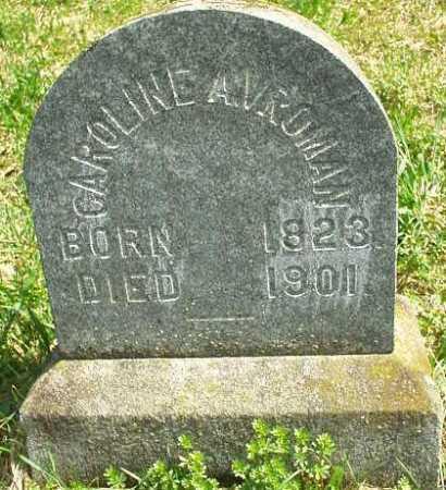 VROMAN, CAROLINE A. - Oneida County, New York | CAROLINE A. VROMAN - New York Gravestone Photos