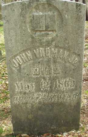 VROMAN, JOHN JR. - Oneida County, New York | JOHN JR. VROMAN - New York Gravestone Photos