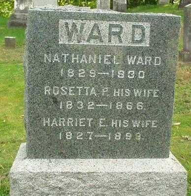 WARD, HARRIET E. - Oneida County, New York | HARRIET E. WARD - New York Gravestone Photos