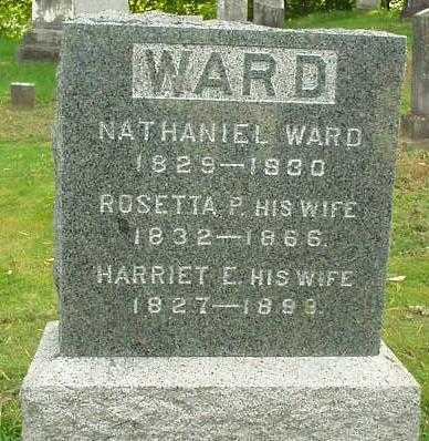 WARD, HARRIET E. - Oneida County, New York | HARRIET E. WARD - New York Gravestone Photos