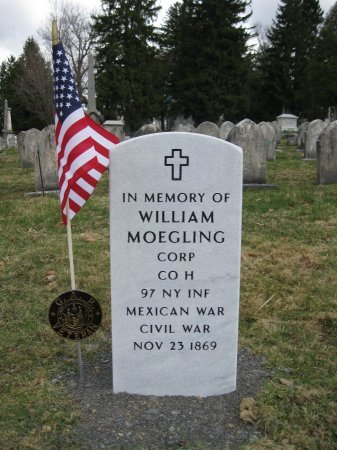 WILLIAM, MOEGLING - Oneida County, New York | MOEGLING WILLIAM - New York Gravestone Photos
