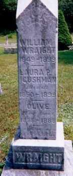 WRAIGHT, WILLIAM F - Oneida County, New York | WILLIAM F WRAIGHT - New York Gravestone Photos