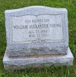 YOUNG, WILLIAM ALEXANDER - Oneida County, New York | WILLIAM ALEXANDER YOUNG - New York Gravestone Photos