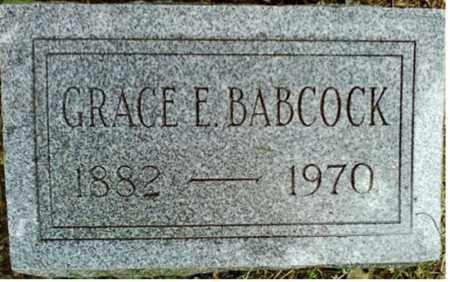 BABCOCK, GRACE E. - Onondaga County, New York | GRACE E. BABCOCK - New York Gravestone Photos