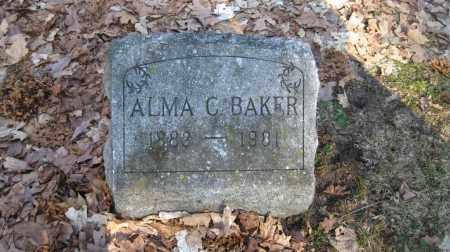 BAKER, ALMA C. - Onondaga County, New York   ALMA C. BAKER - New York Gravestone Photos