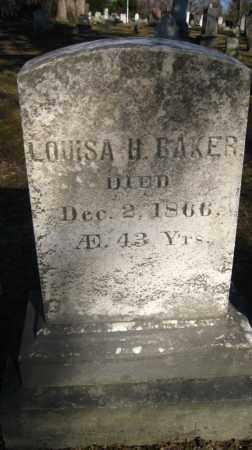 BAKER, LOUISA H. - Onondaga County, New York | LOUISA H. BAKER - New York Gravestone Photos