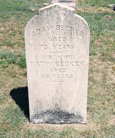BECKER, ADAM - Onondaga County, New York | ADAM BECKER - New York Gravestone Photos