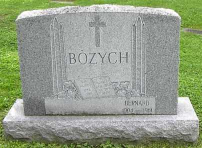 BOZYCH, BERNARD - Onondaga County, New York | BERNARD BOZYCH - New York Gravestone Photos