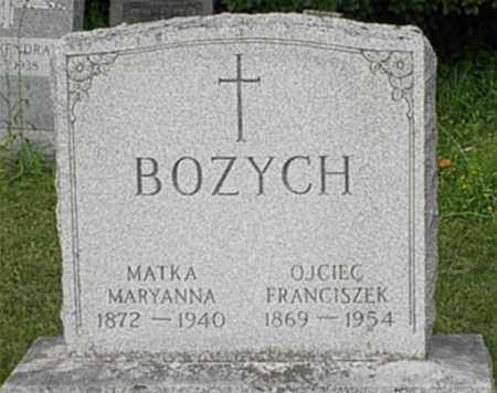 LOCZ BOZYCH, MARYANNA MARY - Onondaga County, New York | MARYANNA MARY LOCZ BOZYCH - New York Gravestone Photos