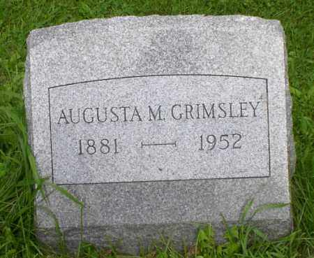 GRIMSLEY, AUGUSTA - Onondaga County, New York | AUGUSTA GRIMSLEY - New York Gravestone Photos