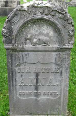POTTER, ANNA - Onondaga County, New York | ANNA POTTER - New York Gravestone Photos