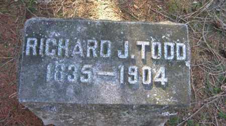 TODD, RICHARD J. - Onondaga County, New York   RICHARD J. TODD - New York Gravestone Photos
