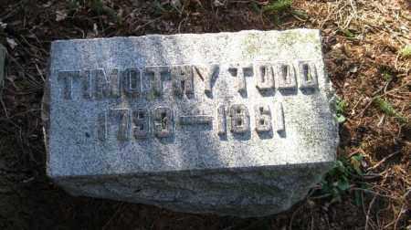TODD, TIMOTHY - Onondaga County, New York | TIMOTHY TODD - New York Gravestone Photos