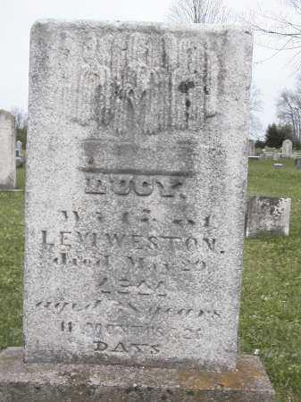 WESTON, LUCY - Onondaga County, New York | LUCY WESTON - New York Gravestone Photos