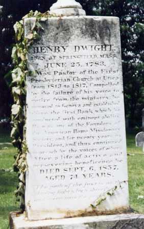 DWIGHT, HENRY - Ontario County, New York | HENRY DWIGHT - New York Gravestone Photos
