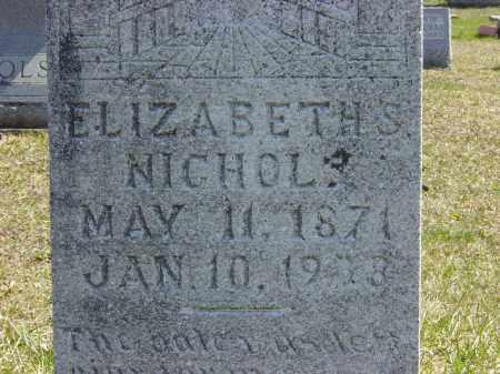 NICHOLS, ELIZABETH S. - Ontario County, New York | ELIZABETH S. NICHOLS - New York Gravestone Photos