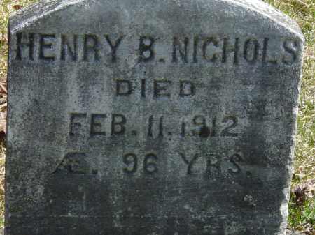 NICHOLS, HENRY B. - Ontario County, New York   HENRY B. NICHOLS - New York Gravestone Photos