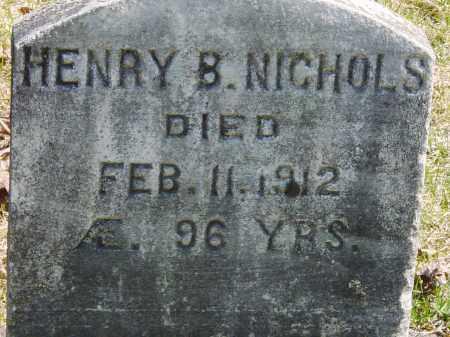 NICHOLS, HENRY B. - Ontario County, New York | HENRY B. NICHOLS - New York Gravestone Photos