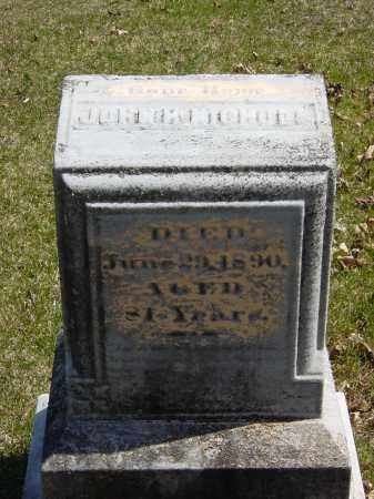 NICHOLS, JOHN H. - Ontario County, New York | JOHN H. NICHOLS - New York Gravestone Photos