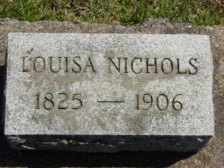 NICHOLS, LOUISA - Ontario County, New York | LOUISA NICHOLS - New York Gravestone Photos