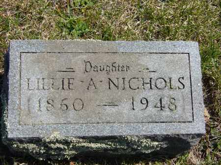 NICHOLS, LILLIE A. - Ontario County, New York | LILLIE A. NICHOLS - New York Gravestone Photos