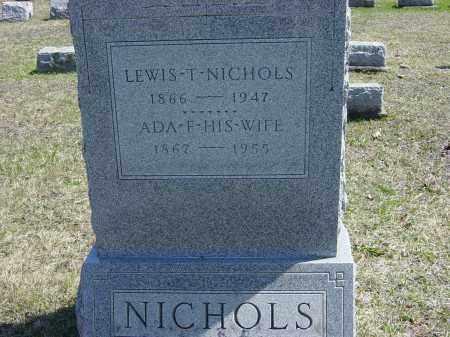 NICHOLS, LEWIS T. - Ontario County, New York | LEWIS T. NICHOLS - New York Gravestone Photos