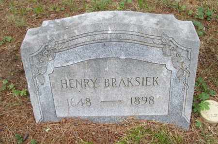 BRAKSIEK, HENRY - Orange County, New York | HENRY BRAKSIEK - New York Gravestone Photos