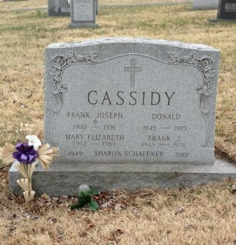 ZAUNER CASSIDY, MARY ELIZABETH - Orange County, New York | MARY ELIZABETH ZAUNER CASSIDY - New York Gravestone Photos