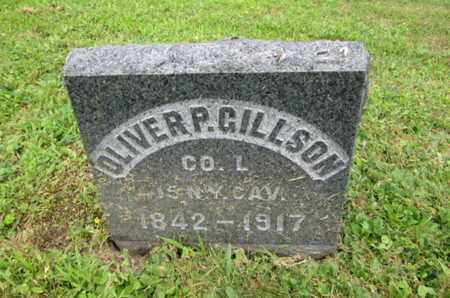 GILLSON, OLIVER P. - Orange County, New York | OLIVER P. GILLSON - New York Gravestone Photos