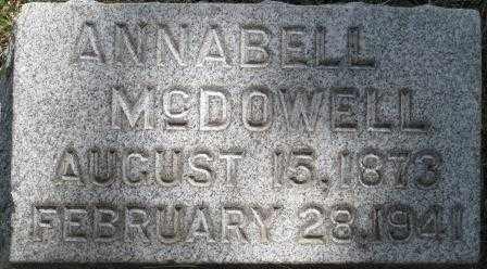 MCDOWELL, ANNABELL - Orange County, New York | ANNABELL MCDOWELL - New York Gravestone Photos