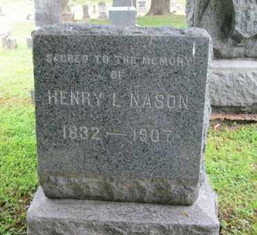 NASON, HENRY L. - Orange County, New York | HENRY L. NASON - New York Gravestone Photos