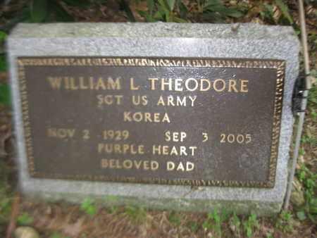 THEODORE, WILLIAM L. - Orange County, New York | WILLIAM L. THEODORE - New York Gravestone Photos