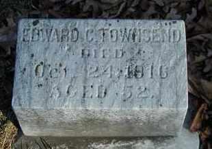TOWNSEND, EDWARD C. - Orange County, New York | EDWARD C. TOWNSEND - New York Gravestone Photos