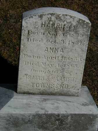 TOWNSEND, HARRIET - Orange County, New York | HARRIET TOWNSEND - New York Gravestone Photos