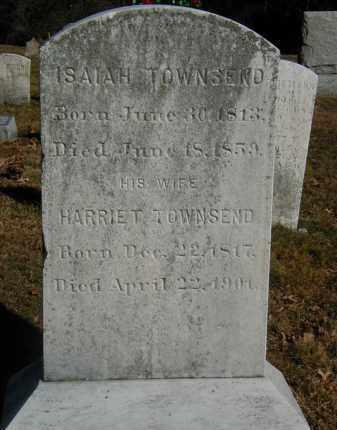 TOWNSEND, HARRIET - Orange County, New York | HARRIET TOWNSEND - New York Gravestone Photos
