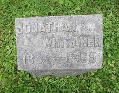 WHITAKER, JONATHAN S. - Orange County, New York   JONATHAN S. WHITAKER - New York Gravestone Photos