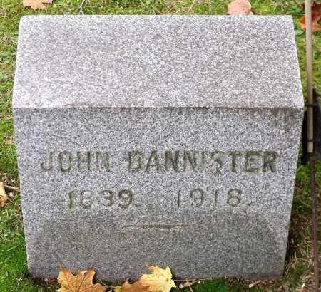 BANNISTER, JOHN - Orleans County, New York | JOHN BANNISTER - New York Gravestone Photos