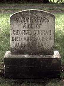 CURRAN, SARAH - Orleans County, New York | SARAH CURRAN - New York Gravestone Photos